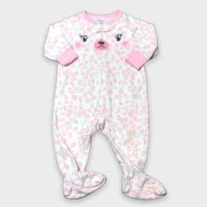 4/$20🥳 Fleece White And Light Pink Sleeper